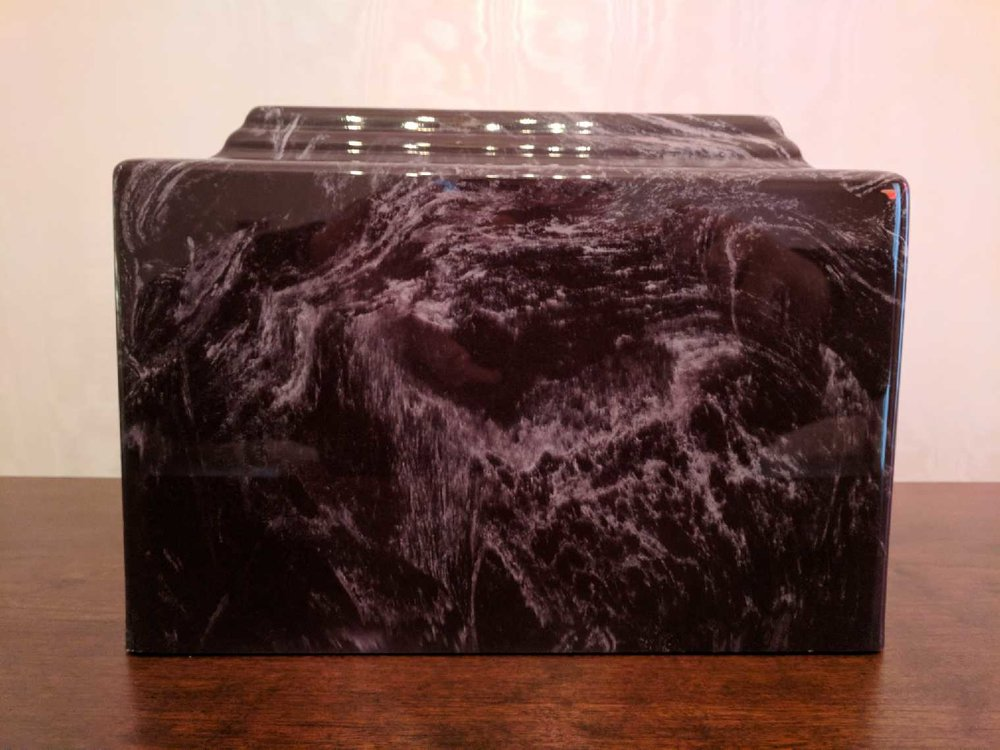 Cultured Marble Urn 004