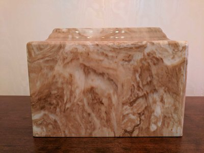 Cultured Marble Urn 009